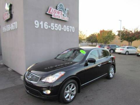 2008 Infiniti EX35 for sale at LIONS AUTO SALES in Sacramento CA