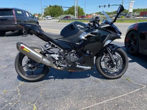 2018 Kawasaki NINJA 400 for sale at Brian Jones Motorsports Inc in Danville VA