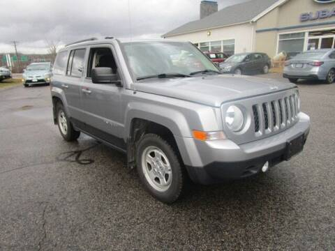 2017 Jeep Patriot for sale at BELKNAP SUBARU in Tilton NH