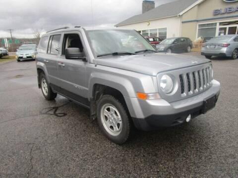2017 Jeep Patriot for sale at BELKNAP SUBARU in Tilton NH