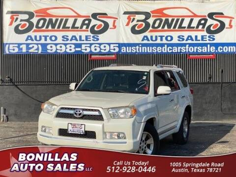2012 Toyota 4Runner for sale at Bonillas Auto Sales in Austin TX