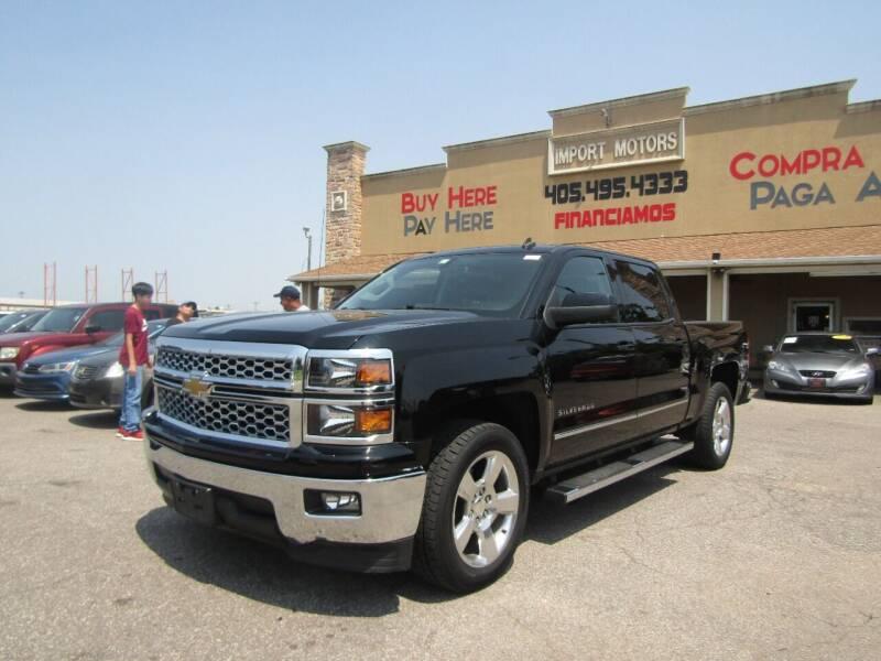 2014 Chevrolet Silverado 1500 for sale at Import Motors in Bethany OK