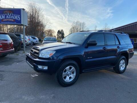 2003 Toyota 4Runner for sale at Sam Adams Motors in Cedar Springs MI