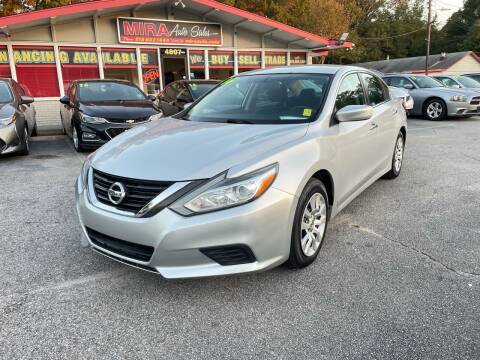 2016 Nissan Altima for sale at Mira Auto Sales in Raleigh NC