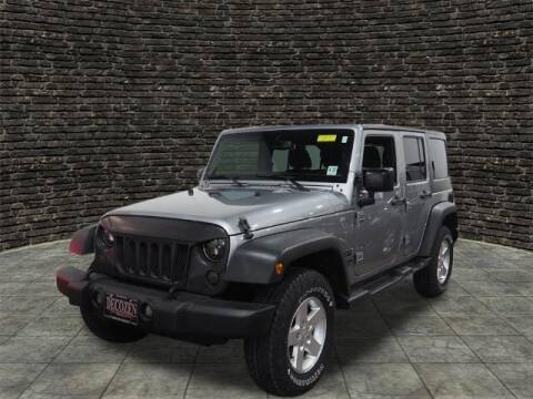 2017 Jeep Wrangler Unlimited for sale at Montclair Motor Car in Montclair NJ