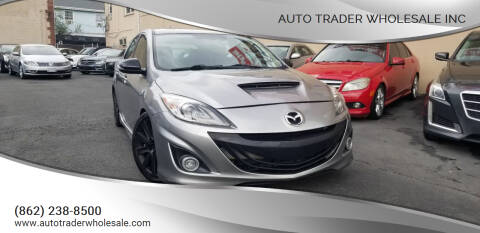 2013 Mazda MAZDASPEED3 for sale at Auto Trader Wholesale Inc in Saddle Brook NJ
