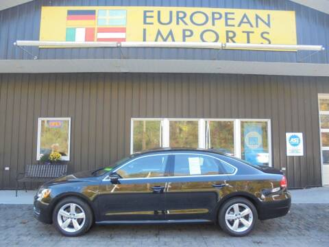 2015 Volkswagen Passat for sale at EUROPEAN IMPORTS in Lock Haven PA
