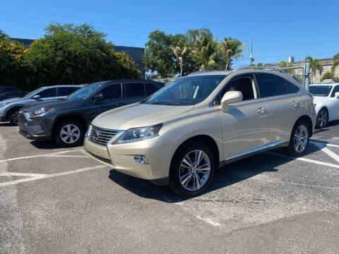 2015 Lexus RX 350 for sale at ONYX AUTOMOTIVE, LLC in Largo FL