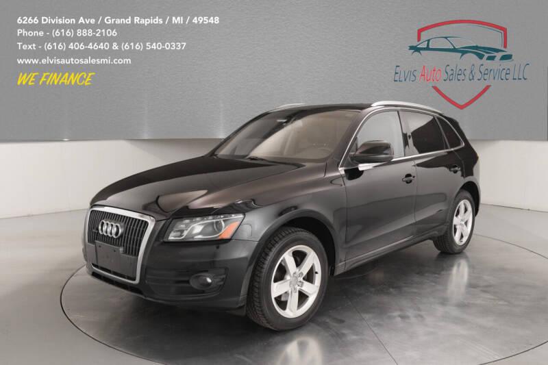 2012 Audi Q5 for sale at Elvis Auto Sales LLC in Grand Rapids MI