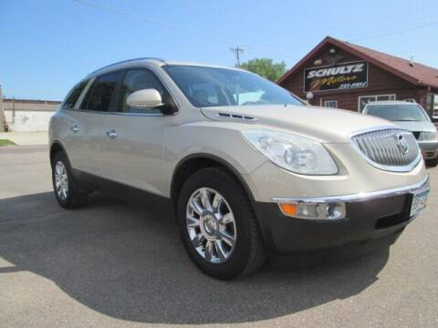 2011 Buick Enclave for sale at SCHULTZ MOTORS in Fairmont MN