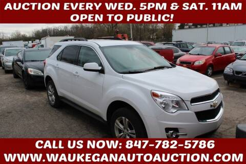 2013 Chevrolet Equinox for sale at Waukegan Auto Auction in Waukegan IL