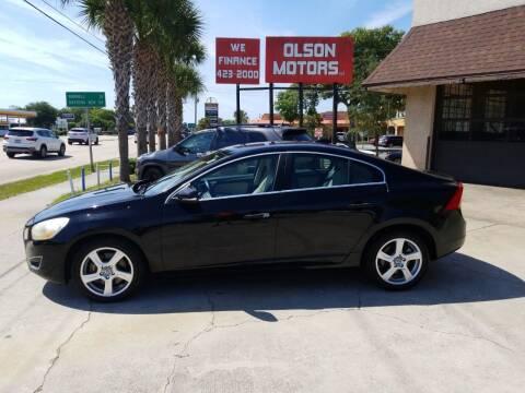 2012 Volvo S60 for sale at Olson Motors LLC in Saint Augustine FL