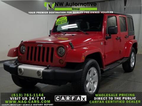 2011 Jeep Wrangler Unlimited for sale at NW Automotive Group in Cincinnati OH