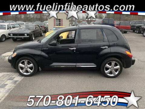 2003 Chrysler PT Cruiser for sale at FUELIN FINE AUTO SALES INC in Saylorsburg PA