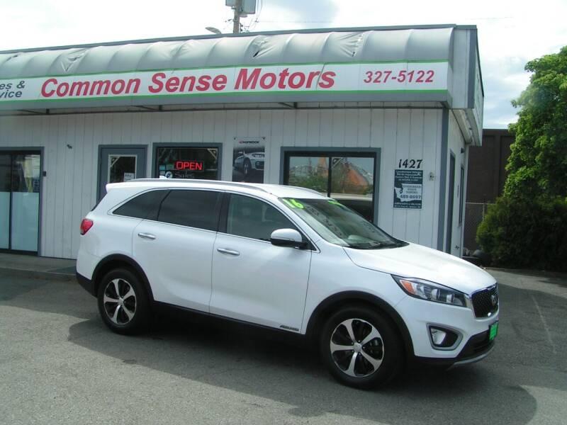 2016 Kia Sorento for sale at Common Sense Motors in Spokane WA