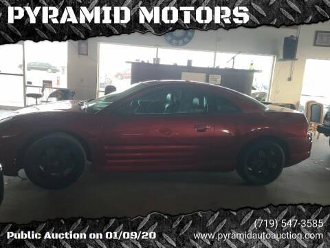 2000 Mitsubishi Eclipse for sale at PYRAMID MOTORS - Pueblo Lot in Pueblo CO