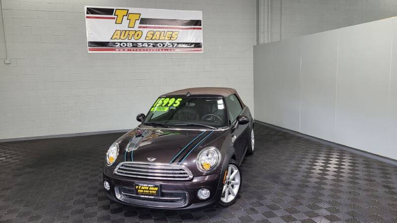 2013 MINI Convertible for sale at TT Auto Sales LLC. in Boise ID