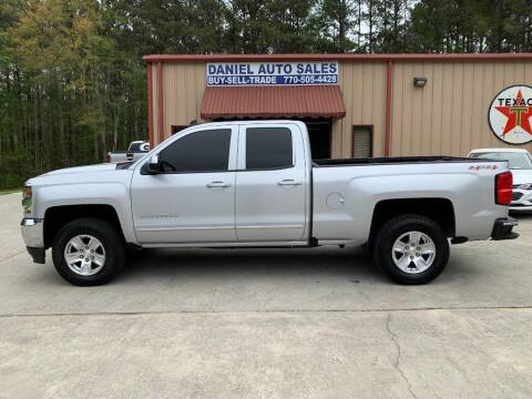 2016 Chevrolet Silverado 1500 for sale at Daniel Used Auto Sales in Dallas GA