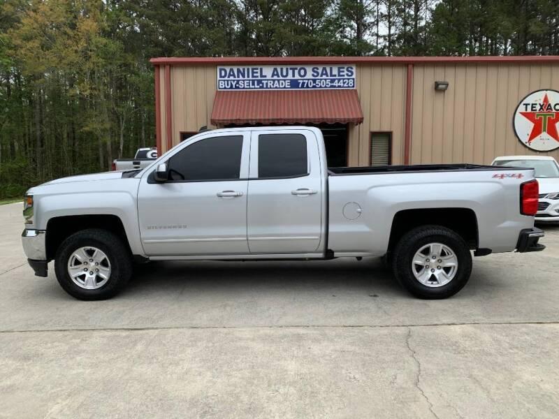 2016 Chevrolet Silverado 1500 for sale at Daniel Used Auto Sales in Dallas GA