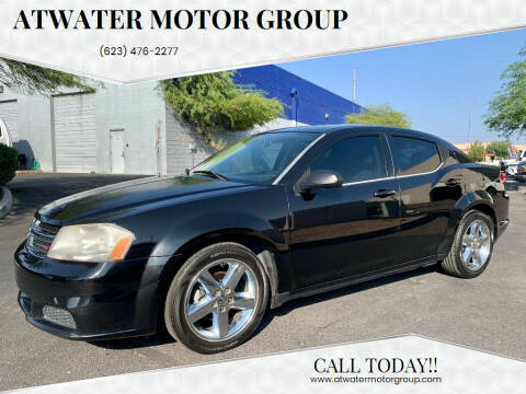 2013 Dodge Avenger for sale at Atwater Motor Group in Phoenix AZ