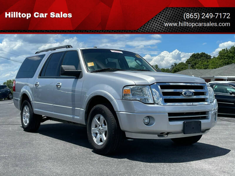 2010 Ford Expedition EL for sale at Hilltop Car Sales in Knoxville TN