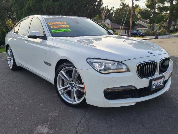 2014 BMW 7 Series for sale at CAR CITY SALES in La Crescenta CA