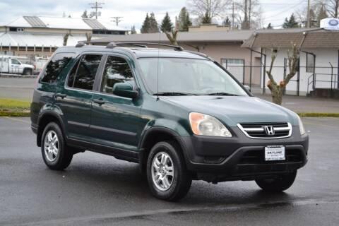 2004 Honda CR-V for sale at Skyline Motors Auto Sales in Tacoma WA