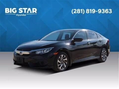 2018 Honda Civic for sale at BIG STAR HYUNDAI in Houston TX