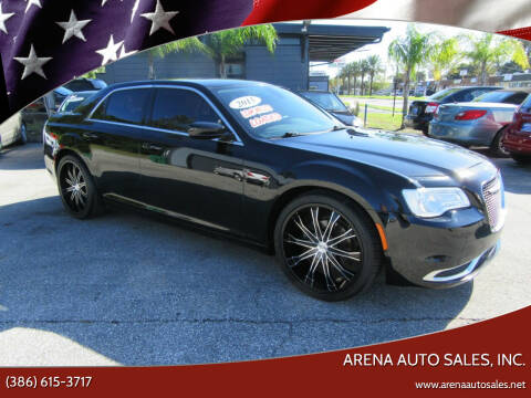 2015 Chrysler 300 for sale at ARENA AUTO SALES,  INC. in Holly Hill FL