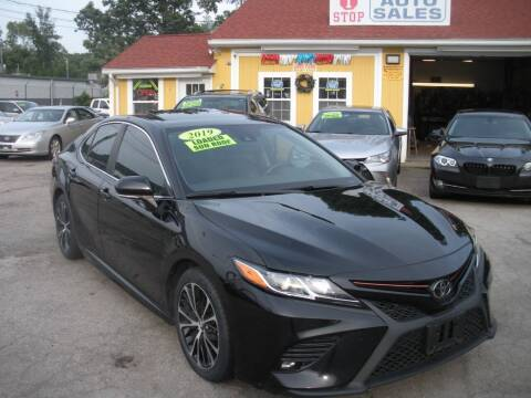 2019 Toyota Camry for sale at One Stop Auto Sales in North Attleboro MA