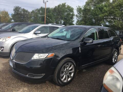 2013 Lincoln MKT for sale at BARNES AUTO SALES in Mandan ND