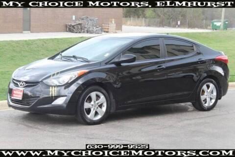 2012 Hyundai Elantra for sale at My Choice Motors Elmhurst in Elmhurst IL