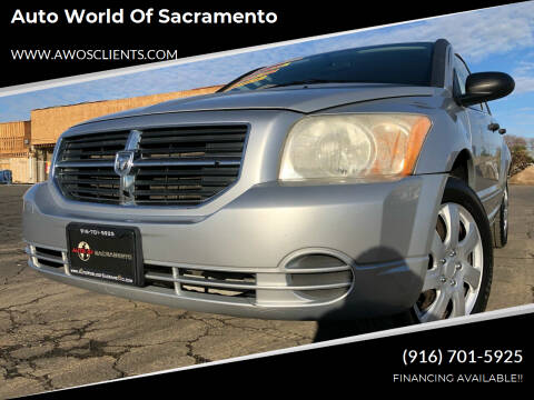 2007 Dodge Caliber for sale at Auto World of Sacramento Stockton Blvd in Sacramento CA