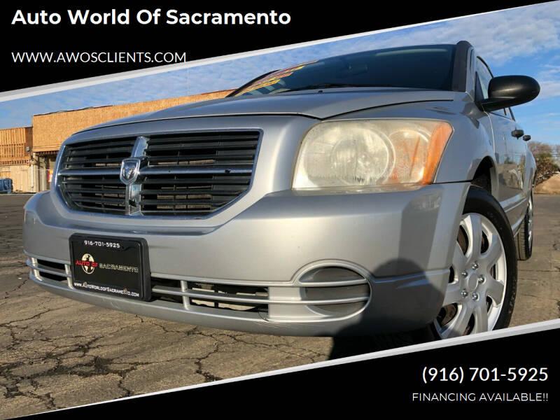 2007 Dodge Caliber for sale at Auto World of Sacramento Stockton Blvd in Sacramento CA