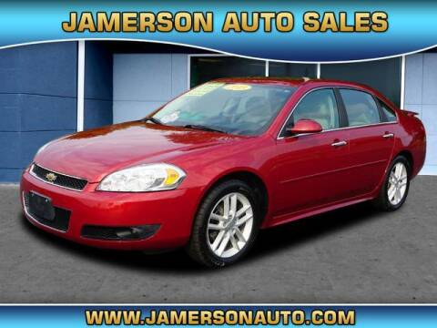 2013 Chevrolet Impala for sale at Jamerson Auto Sales in Anderson IN