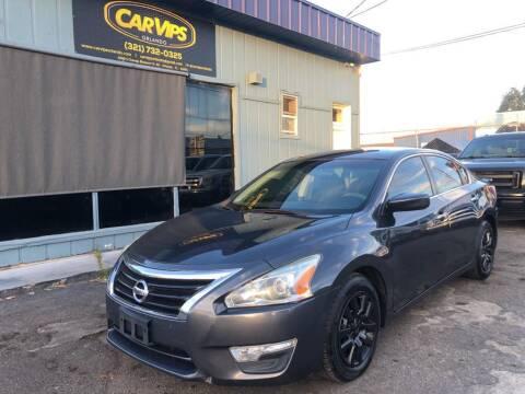 2013 Nissan Altima for sale at CAR VIPS ORLANDO LLC in Orlando FL