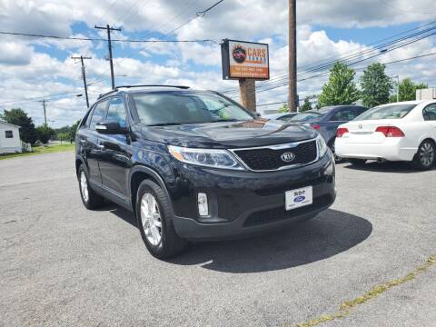 2014 Kia Sorento for sale at Cars 4 Grab in Winchester VA