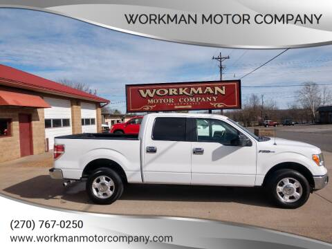 2011 Ford F-150 for sale at Workman Motor Company in Murray KY