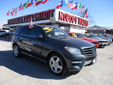 2014 Mercedes-Benz M-Class for sale at Giant Auto Mart 2 in Houston TX