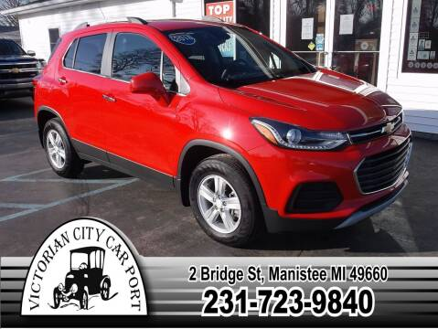 2018 Chevrolet Trax for sale at Victorian City Car Port INC in Manistee MI