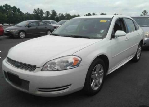 2012 Chevrolet Impala for sale at JacksonvilleMotorMall.com in Jacksonville FL