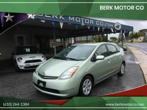 2007 Toyota Prius for sale at Berk Motor Co in Whitehall PA
