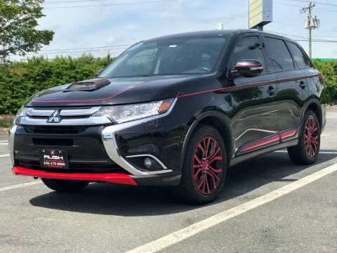 2018 Mitsubishi Outlander for sale at RUSH AUTO SALES in Burlington NC