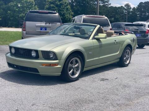 2005 Ford Mustang for sale at Luxury Cars of Atlanta in Snellville GA