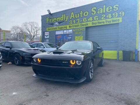 2017 Dodge Challenger for sale at Friendly Auto Sales in Detroit MI