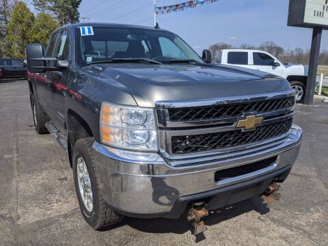 2011 Chevrolet Silverado 2500HD for sale at GREAT DEALS ON WHEELS in Michigan City IN