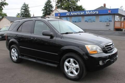 2007 Kia Sorento for sale at All American Motors in Tacoma WA