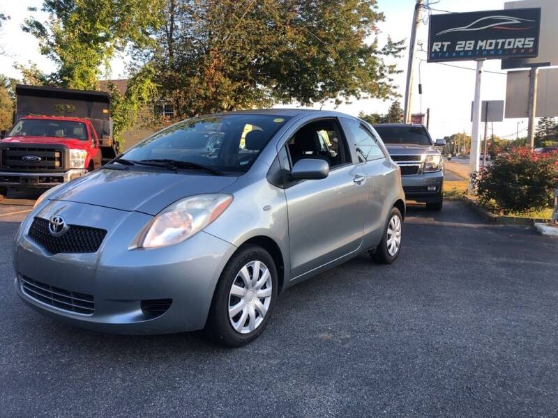 2008 Toyota Yaris for sale at RT28 Motors in North Reading MA