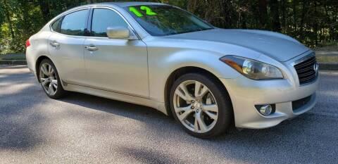 2012 Infiniti M37 for sale at Chris Motors in Decatur GA