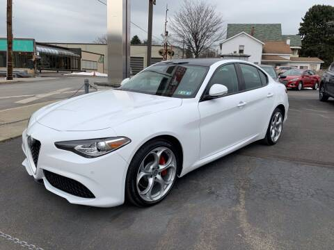 2018 Alfa Romeo Giulia for sale at Red Top Auto Sales in Scranton PA